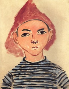 """Portrait of Pierre"" by Henri Matisse"